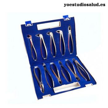 11 EXTRACTION FORCEPS ADULTS KIT MS