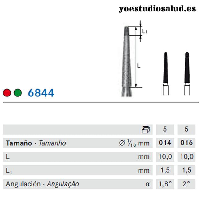 FRESA DIAMANTE KOMET 844