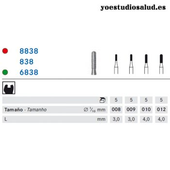 FRESA DIAMANTE KOMET 838