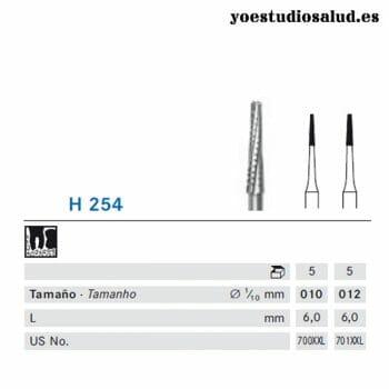 FRESA KOMET TURBINA ODONTOSECCIÓN H254.314.012