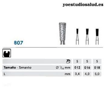 FRESA DIAMANTE KOMET FORMA 807