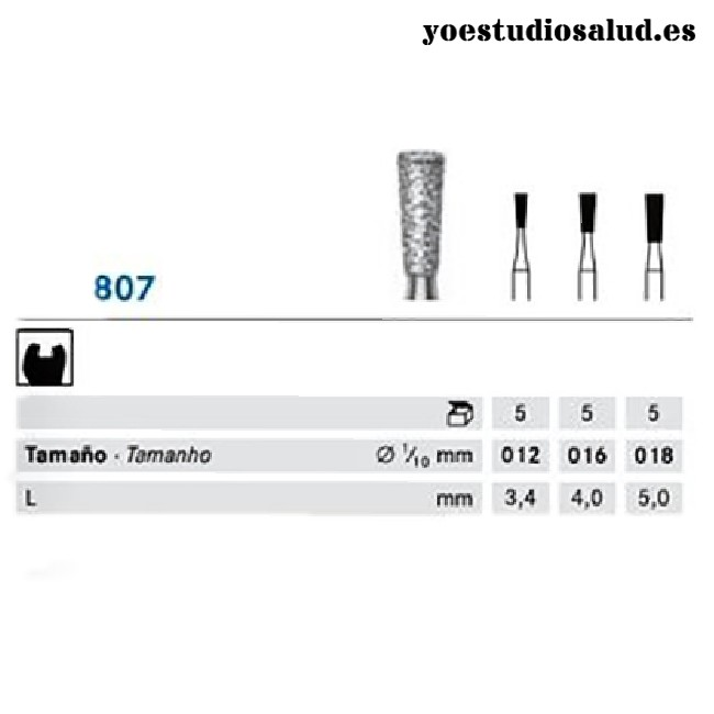 FRESA DIAMANTE KOMET 807.314.010