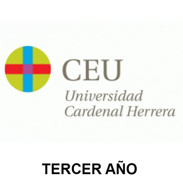 LISTA CEU-UCH TERCER AÑO